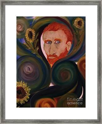 Loving Vangogh Framed Print