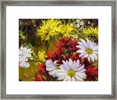 Lovingly Yours Framed Print by Bill Inman