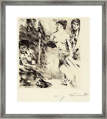 Lovis Corinth, Harem Der Harem, German Framed Print by Quint Lox