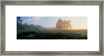 Lovo Uppland Sweden Framed Print by Panoramic Images