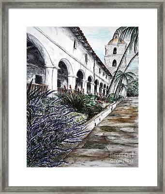 Low Angle Perspective Framed Print by Danuta Bennett