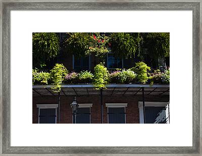 Low Angle View Of A Balcony, French Framed Print by Panoramic Images