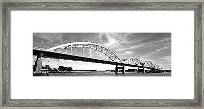 Low Angle View Of A Bridge, Centennial Framed Print by Panoramic Images
