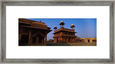 Low Angle View Of A Building, Fatehpur Framed Print
