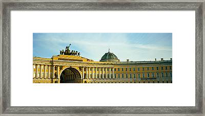Low Angle View Of A Building, General Framed Print