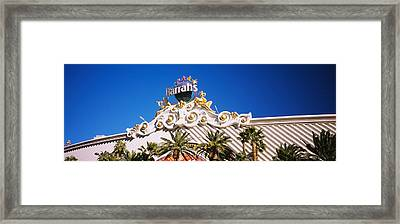 Low Angle View Of A Building, Harrahs Framed Print by Panoramic Images