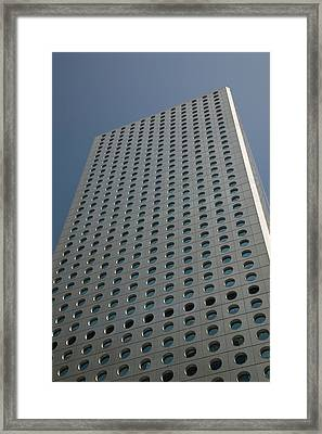 Low Angle View Of A Building, Jardine Framed Print