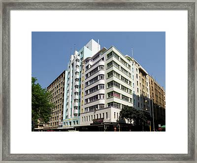 Low Angle View Of A Building, London Framed Print
