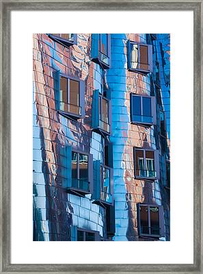 Low Angle View Of A Building, Neuer Framed Print