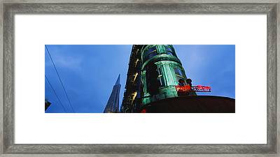 Low Angle View Of A Building, Sentinel Framed Print by Panoramic Images