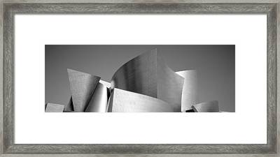 Low Angle View Of A Building, Walt Framed Print