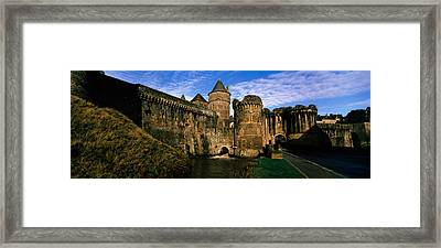 Low Angle View Of A Castle, Chateau De Framed Print by Panoramic Images