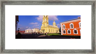 Low Angle View Of A Cathedral, Peter Framed Print by Panoramic Images
