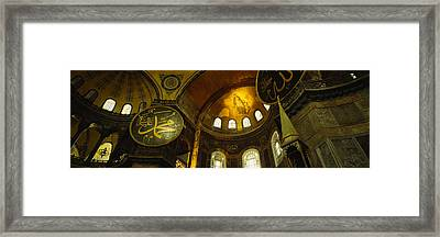 Low Angle View Of A Ceiling, Aya Framed Print by Panoramic Images