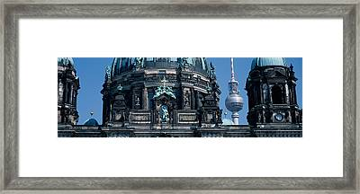 Low Angle View Of A Church, Berliner Framed Print