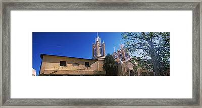 Low Angle View Of A Church, San Felipe Framed Print
