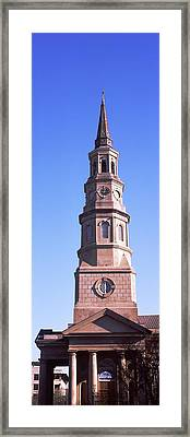 Low Angle View Of A Church, St. Philips Framed Print by Panoramic Images