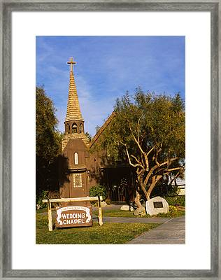 Low Angle View Of A Church, The Little Framed Print by Panoramic Images