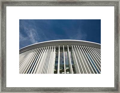 Low Angle View Of A Concert Hall Framed Print by Panoramic Images