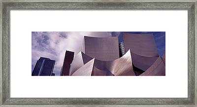 Low Angle View Of A Concert Hall, Walt Framed Print