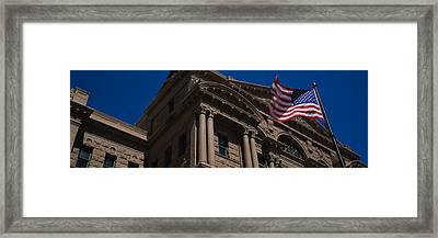 Low Angle View Of A Courthouse, Fort Framed Print by Panoramic Images