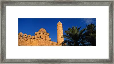 Low Angle View Of A Fort, Medina Framed Print by Panoramic Images