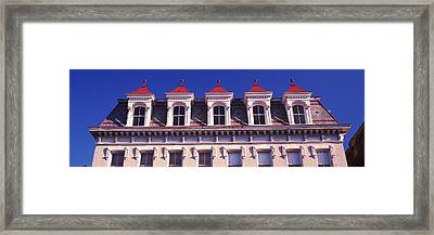 Low Angle View Of A Historic Building Framed Print