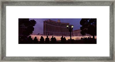 Low Angle View Of A Hotel, Bellagio Framed Print