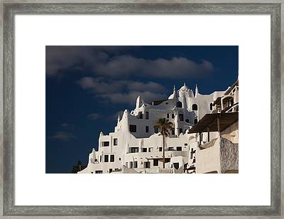 Low Angle View Of A Hotel, Casapueblo Framed Print