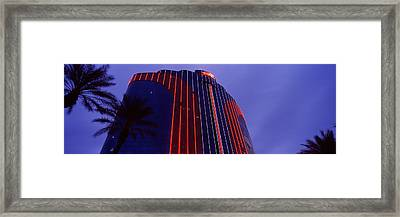 Low Angle View Of A Hotel, Rio All Framed Print