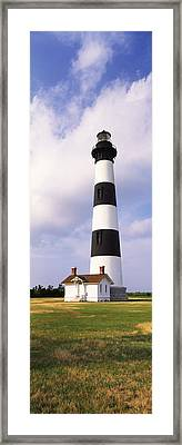 Low Angle View Of A Lighthouse, Bodie Framed Print by Panoramic Images