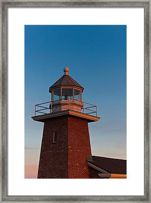 Low Angle View Of A Lighthouse Museum Framed Print by Panoramic Images