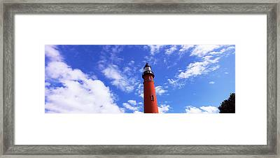 Low Angle View Of A Lighthouse, Ponce Framed Print by Panoramic Images