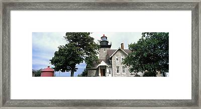 Low Angle View Of A Lighthouse, Thirty Framed Print by Panoramic Images