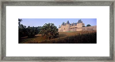 Low Angle View Of A Mansion, Biltmore Framed Print