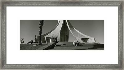 Low Angle View Of A Monument, Martyrs Framed Print by Panoramic Images