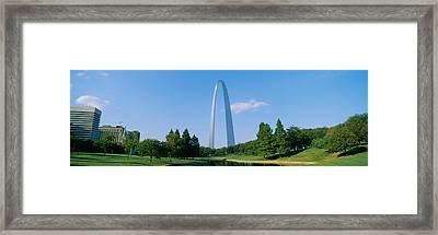Low Angle View Of A Monument, St Framed Print by Panoramic Images