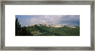 Low Angle View Of A Museum On Top Framed Print by Panoramic Images