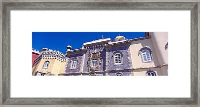 Low Angle View Of A Palace, Palacio Framed Print
