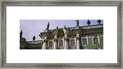 Low Angle View Of A Palace, Winter Framed Print by Panoramic Images