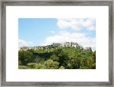 Low Angle View Of A Ruined Town Framed Print by Panoramic Images
