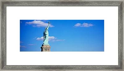 Low Angle View Of A Statue, Statue Framed Print by Panoramic Images