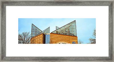 Low Angle View Of An Aquarium Framed Print by Panoramic Images