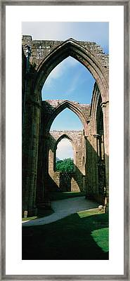 Low Angle View Of An Archway, Bolton Framed Print by Panoramic Images