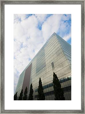 Low Angle View Of An Art Museum, Museum Framed Print by Panoramic Images