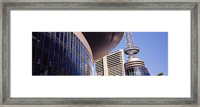 Low Angle View Of Bridgestone Arena Framed Print by Panoramic Images