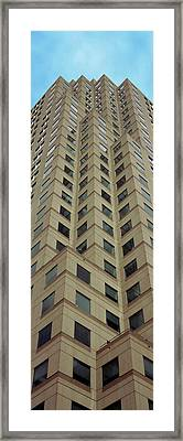 Low Angle View Of Building, Two Framed Print by Panoramic Images