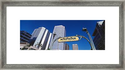 Low Angle View Of Buildings, Cite Framed Print by Panoramic Images
