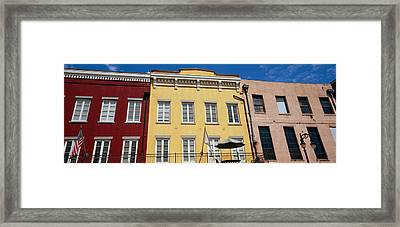Low Angle View Of Buildings, French Framed Print by Panoramic Images