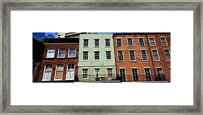 Low Angle View Of Buildings, Riverwalk Framed Print by Panoramic Images